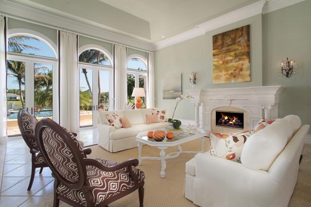 Modern Bermuda Contemporary Living Room Miami By Jma