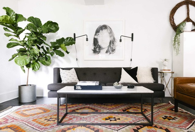 Modern Boho in Denver - Scandinavian - Living Room - Denver - by ...