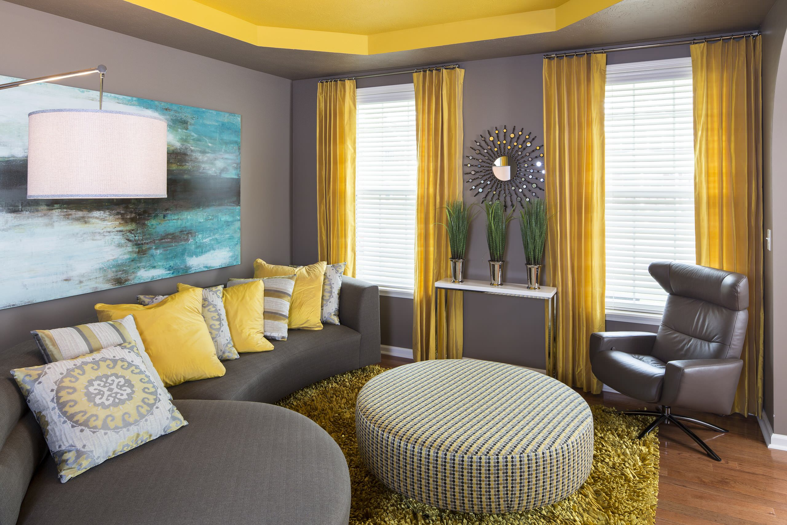 75 Beautiful Yellow Living Room Pictures Ideas February 2021 Houzz