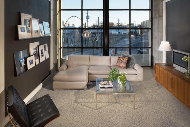 Modern carpet karastan coles fine flooring modern - Modern carpets for living room ...