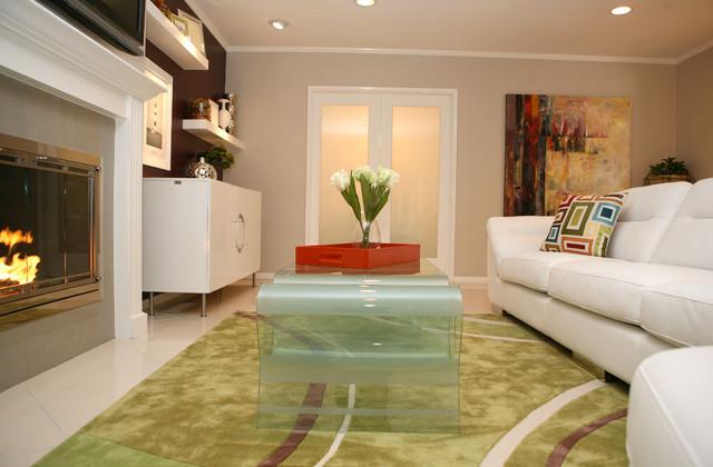 Modern Chic modern-living-room