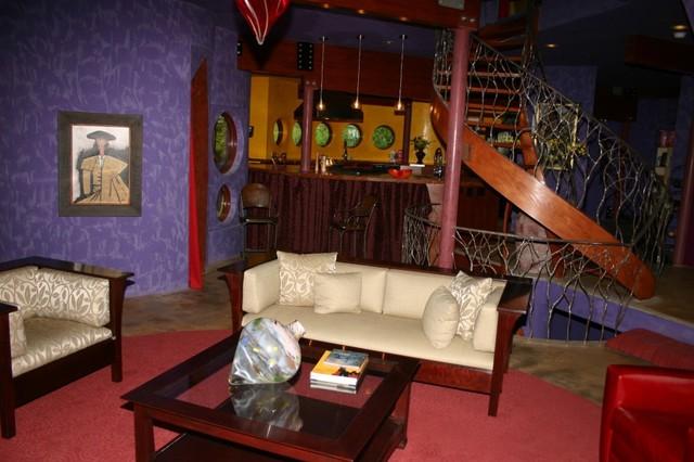 modern circular living room contemporary-living-room