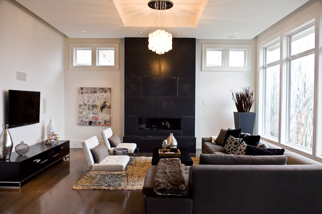 Modern Classic Modern Living Room Vancouver By Done To The Nines