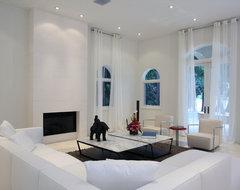 MODERN contemporary-living-room