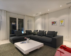 MODERN contemporary-living-room