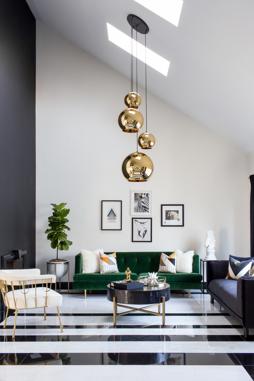 Modern Colonial Contemporary Living Room New York By Ansh Interiors Houzz Ie,Bedroom Office Design Ideas