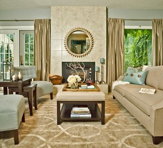 Modern country interiors furniture design - Modern country living room ...