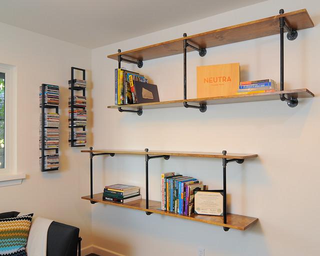 Modern Couples Retreat modern-living-room