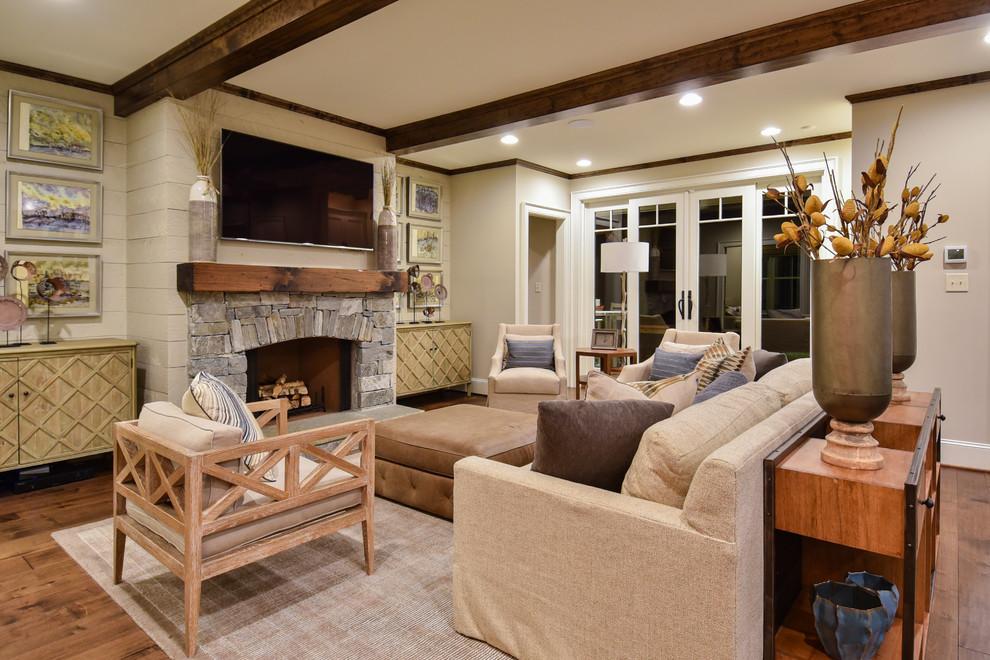 modern craftsman  craftsman  living room  other