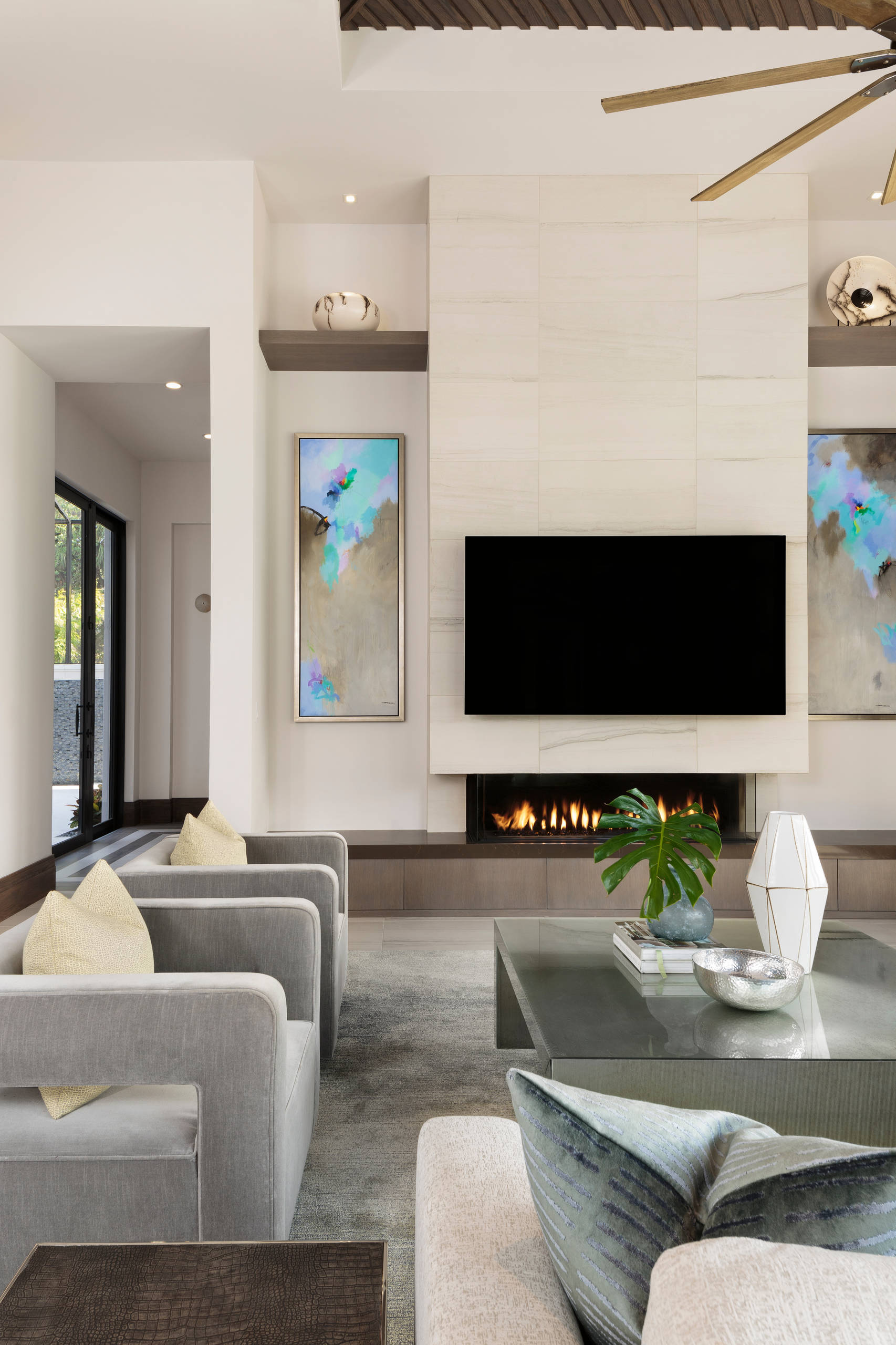75 Beautiful Modern Living Room Pictures Ideas September 2020 Houzz