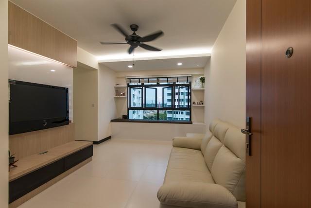 Modern design montreal link hdb 3 room modern living room