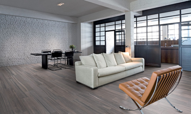 Modern Dining Room flooring - Contemporary - Living Room - San ...