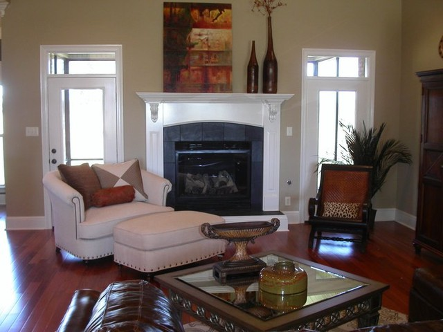 Modern Eclectic eclectic-living-room