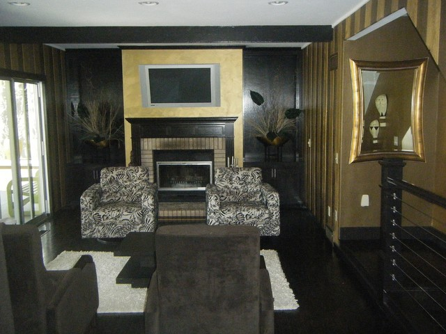 Modern/ Ecclectic traditional-living-room