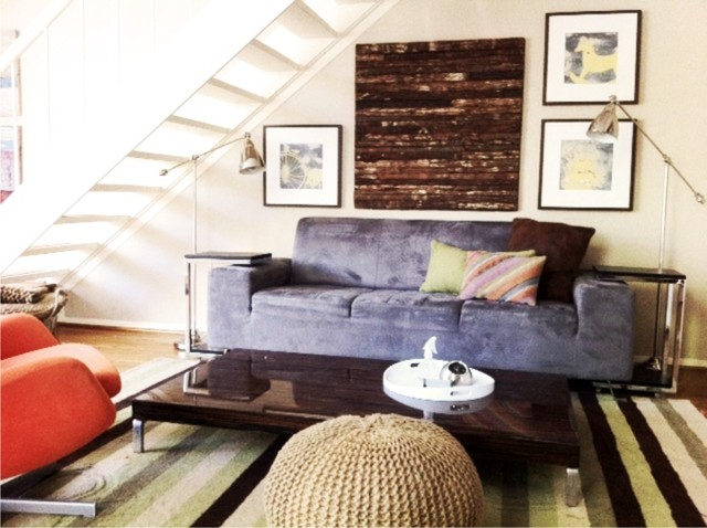Interior Designers Decorators Modern Eclectic Living Space In Houston Room