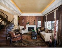 Modern elegance contemporary-living-room