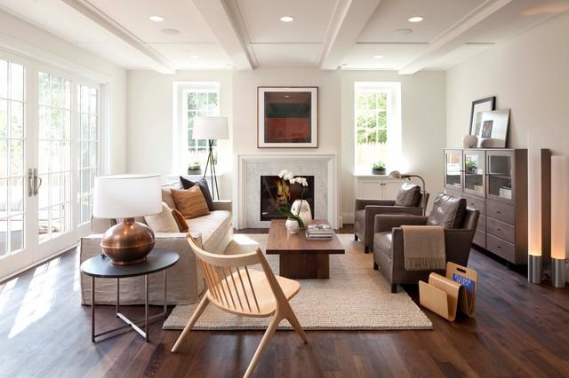 Modern English - Modern - Living Room - Minneapolis - By Murphy