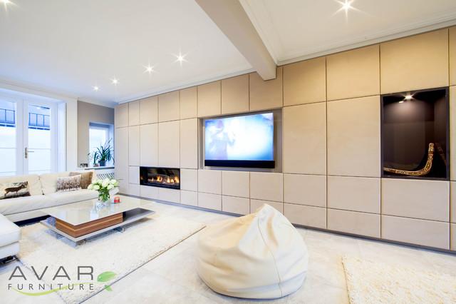 Modern Entertainment Unit Modern Living Room