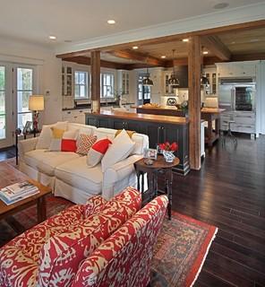 Modern Farmhouse - Traditional - Living Room - Richmond