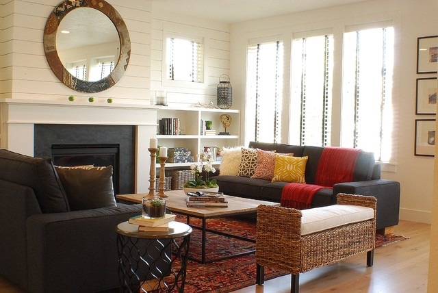 modern farmhouse living room 2