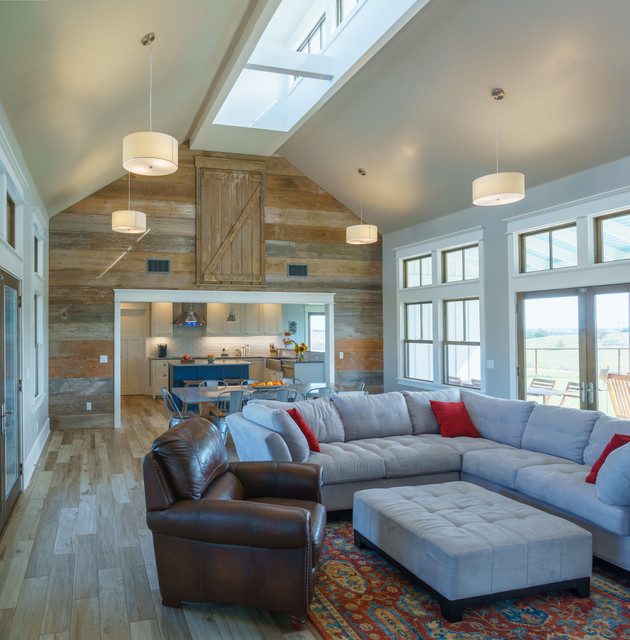 Houzz Home Design Ideas: Modern Farmhouse