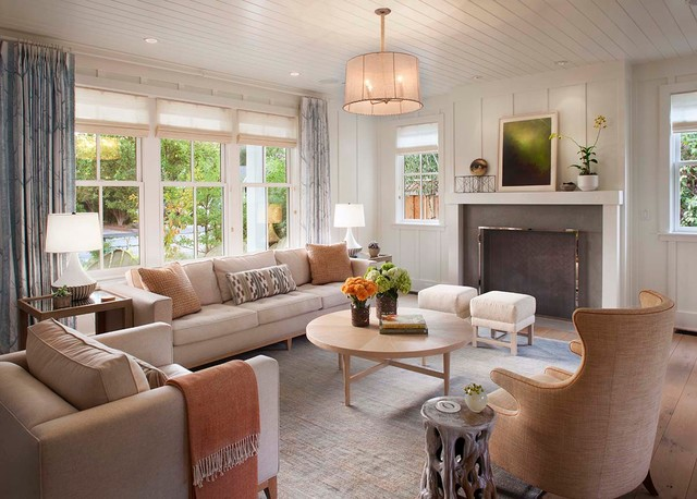 Modern farmhouse Farmhouse Living Room san francisco by Modern Organi