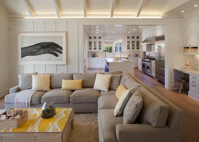 Modern Farmhouse Living Room San Francisco