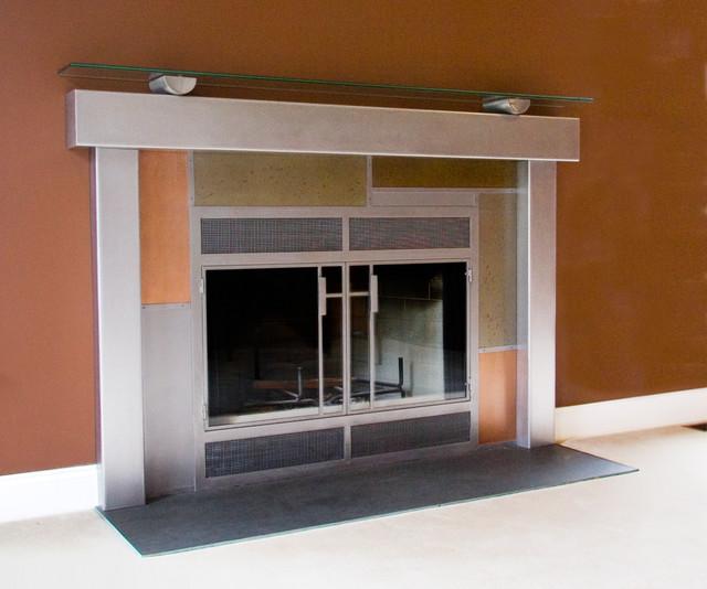 modern fireplace surrounds | Roselawnlutheran