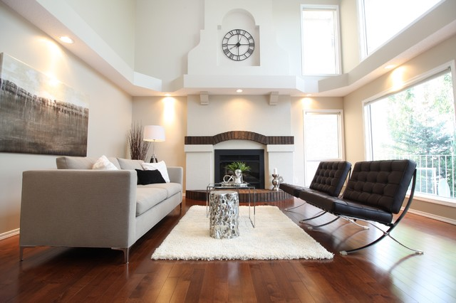 modern glam in signal hill calgary transitional living room calgary by edit home staging. Black Bedroom Furniture Sets. Home Design Ideas