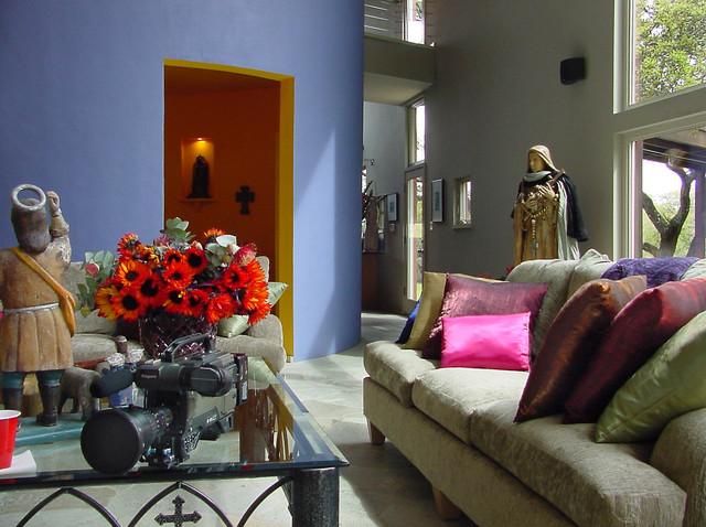 Modern Hacienda Modern Living Room Austin By Ignacio Salas Humara Architect Llc
