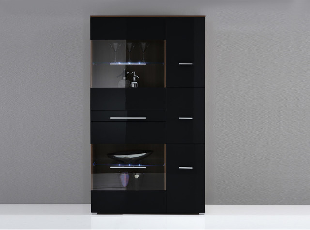 modern highboard contro by lc mobili modern living room new york by valentini. Black Bedroom Furniture Sets. Home Design Ideas