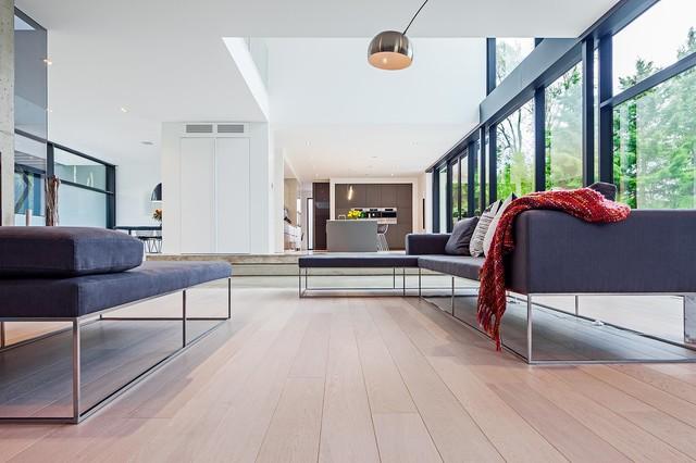 Modern Home In Oakville Ontario Scandinavian Living