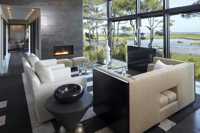 Modern House modern-living-room