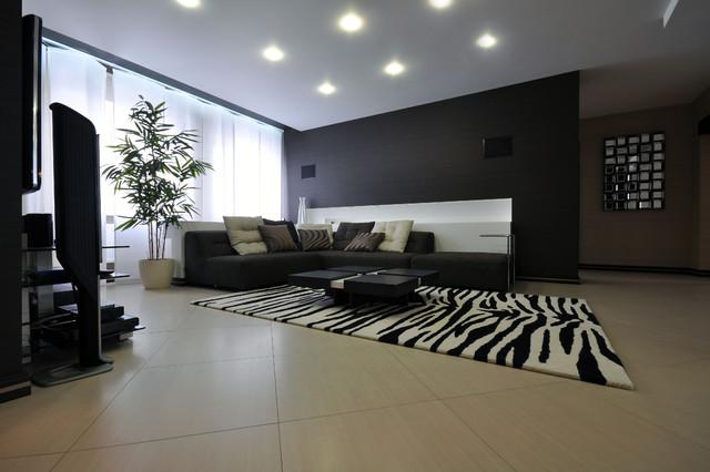 Modern interior contemporary-living-room