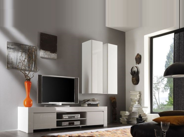 modern italian tv stand salina small by lc mobili modern living room new york. Black Bedroom Furniture Sets. Home Design Ideas
