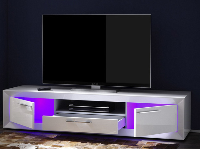 Modern Italian TV Stand Salina Small By LC Mobili   $749.00  Modern Living Room