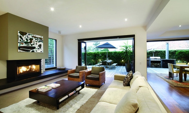 Modern Living by Leon Meyer contemporary-living-room