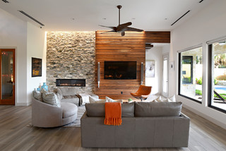 Modern Living In Plano Tx Contemporary Living Room Dallas By Zachary Custom Homes