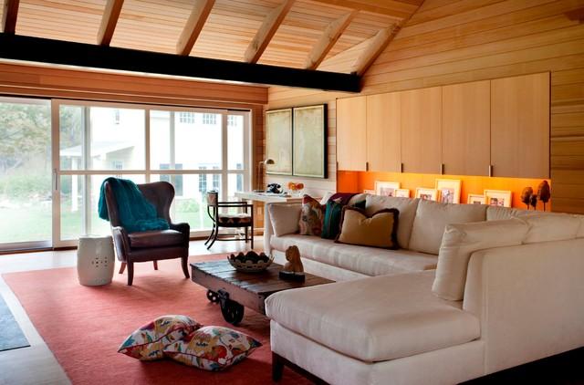 Modern Living transitional-living-room