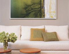 Central Park West Apartment modern-living-room