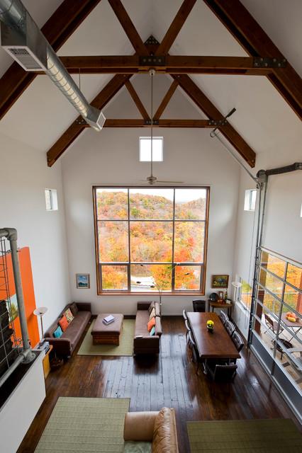 Bluff House modern-living-room