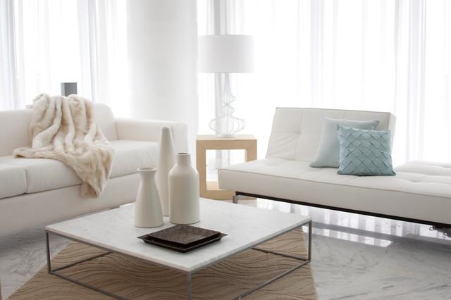 Dkor interiors interior design at the caribbean miami for Modern beach interiors