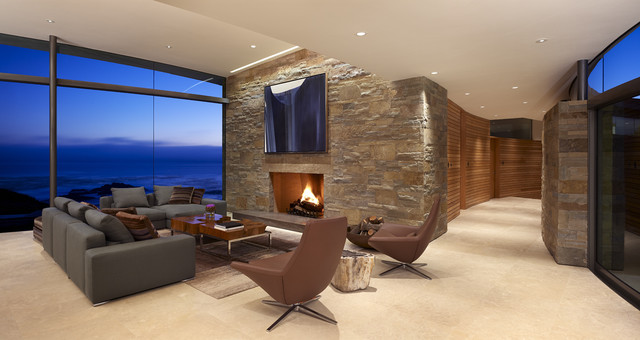 Modern Living Room contemporary-living-room