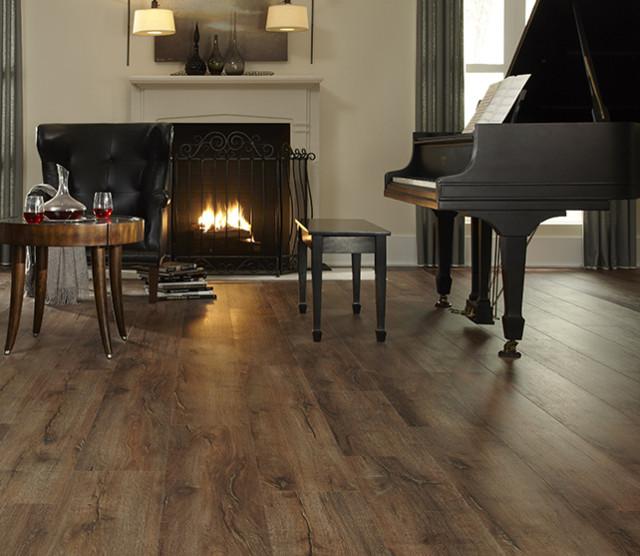moduleo luxury vinyl plank highland hickory modern living room los angeles