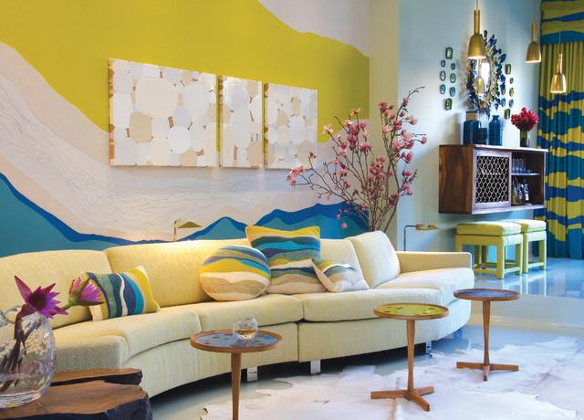 Amy Lau modern-living-room