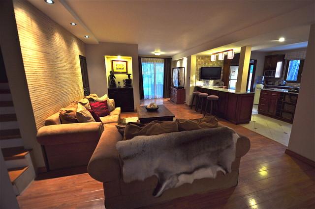 Modern living room asian-living-room