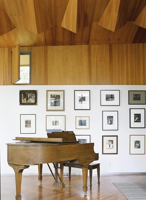 Evans Road - living room modern living room