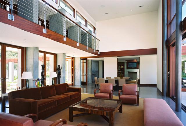 South Bay Residence modern-living-room