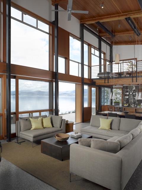 Bottle Bay modern-living-room