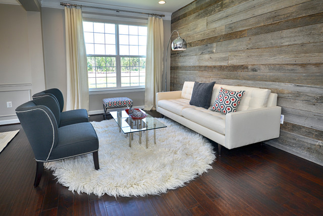 Fantastic Modern Living Room Reclaimed Wood Wall Contemporary Best Image Libraries Thycampuscom